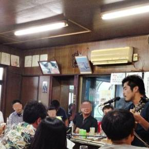 10月26日(日)小倉北区旦過、魚町周辺 投げ銭ライブ