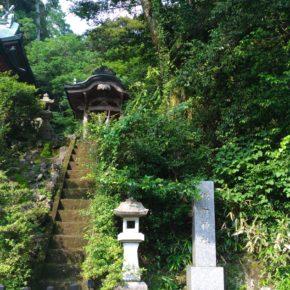 【昨日の山作戰】2019.06.20 「音楽をやってない」と言い出した髙山の税所神社での誓い、鹿児島の旅。